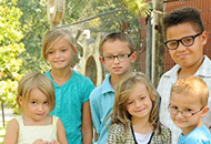Christian, Alysia, Raymond, Tyson, Taylor and Lynzee