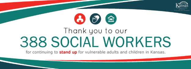 Thank you to Our 388 Social Workers for continuing to stand up for vulnerable adults and children in Kansas